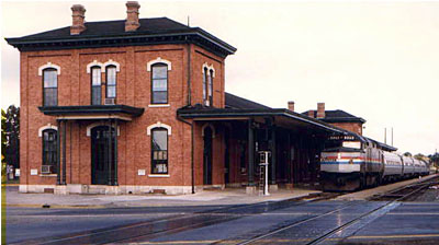 Train Station in Jackson, MI